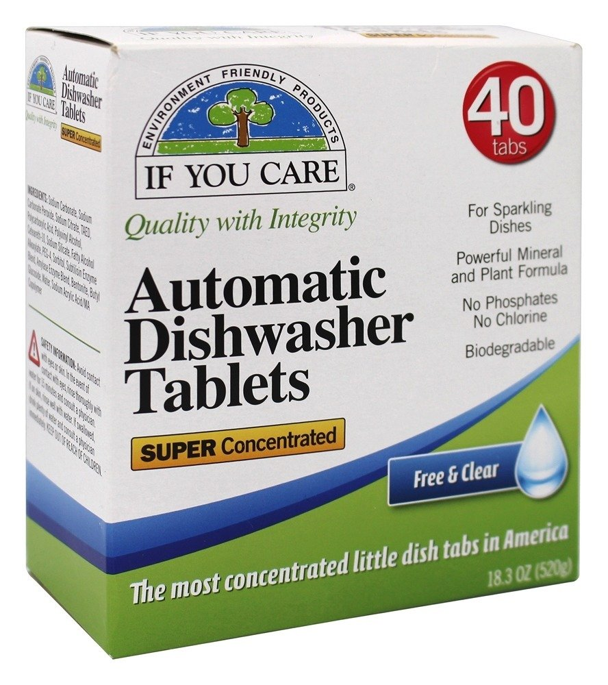 environmentally friendly, phosphate free, biodegradable dishwasher detergent
