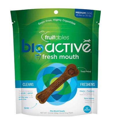 fresh breath dog natural treats