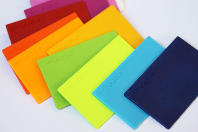 bioplastic fixing cards