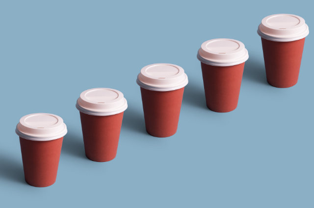 Reusable cup for hot beverage Eco Friendly Coffee Cup