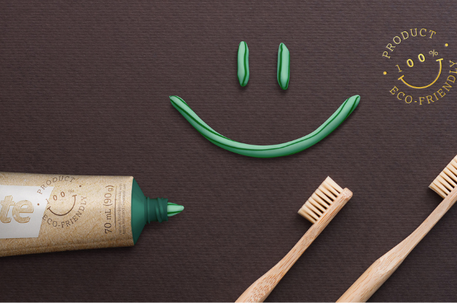 Coolpaste zero-waste toothbrush