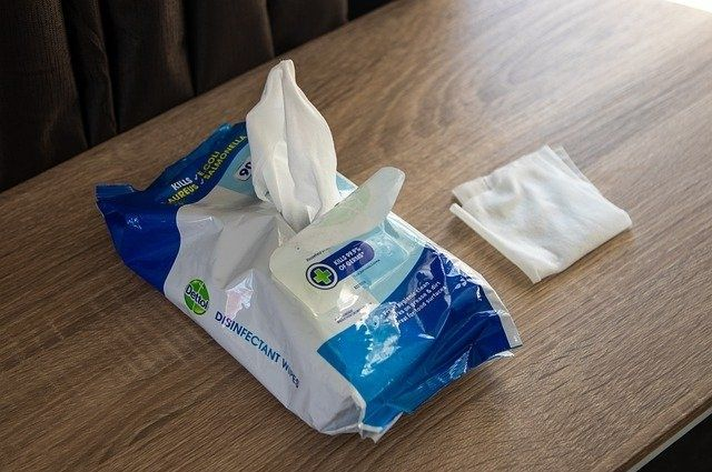 Sustainable baby wet tissue