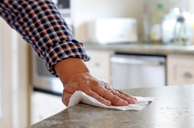 Eco friendly countertop rug Swedish dishcloth