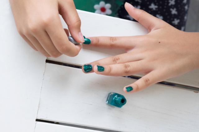 Children Safe Finger Nails Gel Non Toxic Nail Polish
